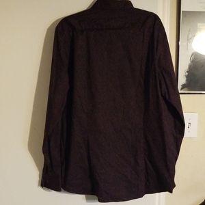 Michael Kors Shirts - EUC Michael Kors Trim Stretch Casual Button Down